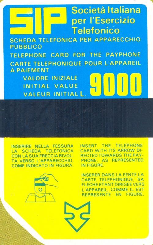 La prima scheda telefonica Sip di tipo