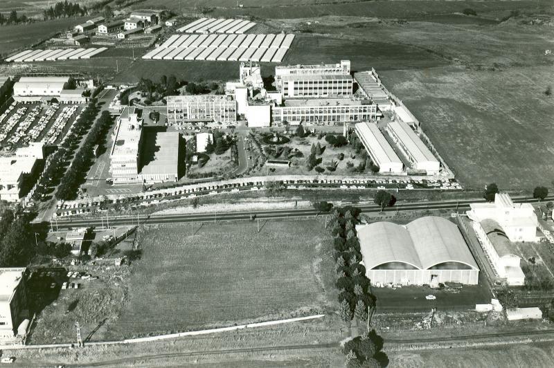 stabilimento di studi e ricerche della Selenia di Roma, anni '70