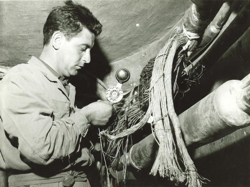 cameretta sotterranea, 1960